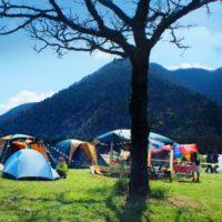 キャンプ 心地よい暮らし