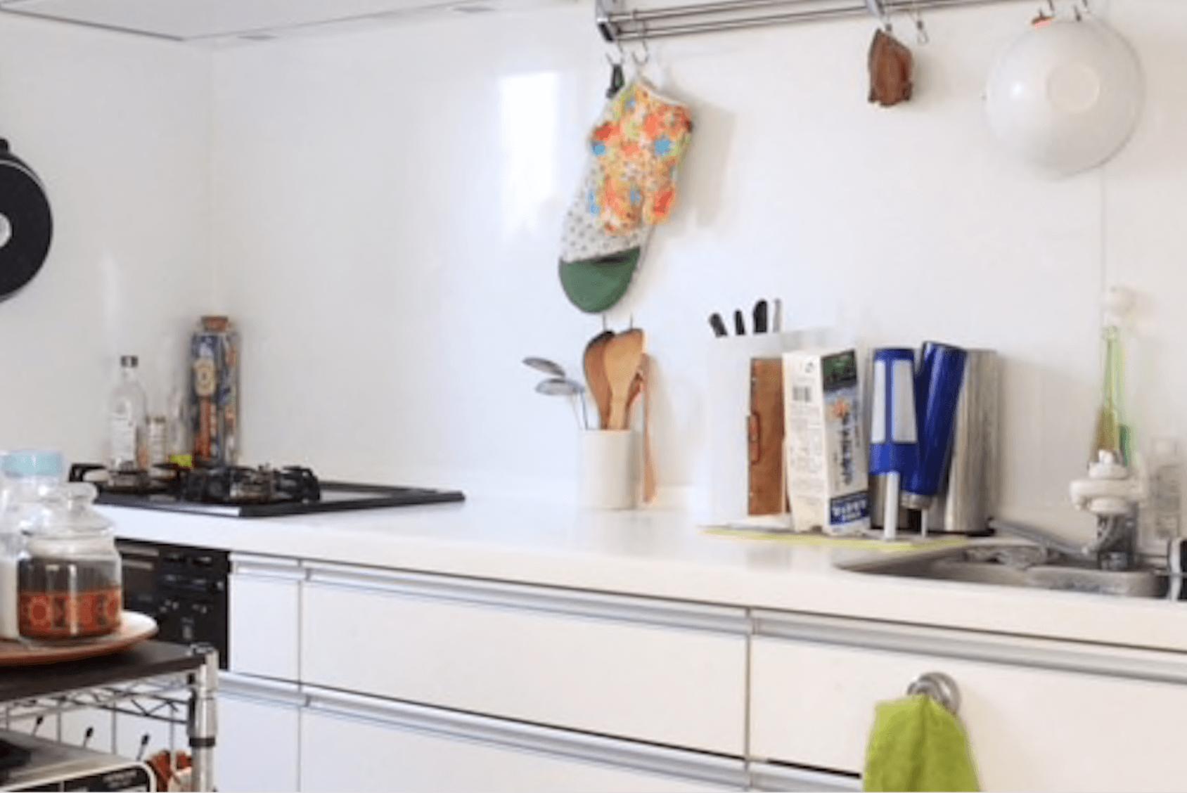 心地よい暮らし キッチン