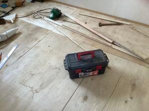 床の張り替え3