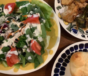 北欧食器アラビア サラダ